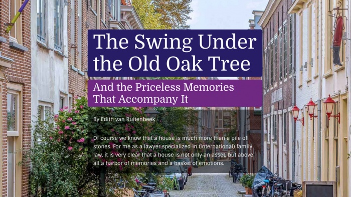 The Swing Under the Old Oak Tree And the Priceless Memories That Accompany It