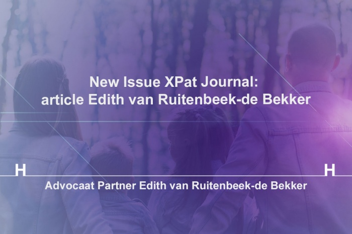 New Issue XPat Journal: article Edith van Ruitenbeek-de Bekker